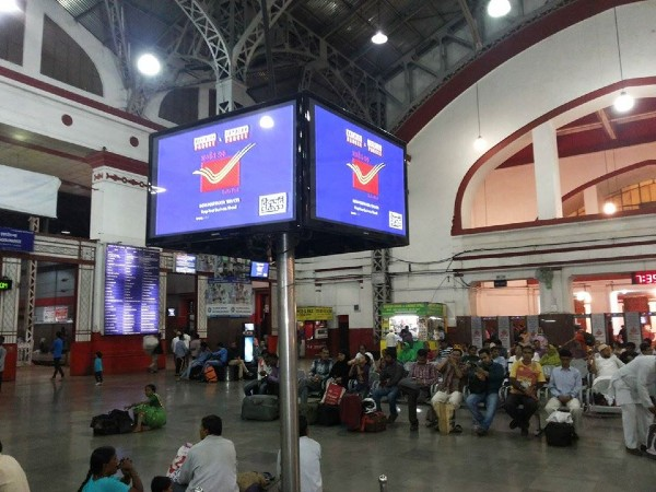 Armour Digital Screens at Railway Station- role of DOOH